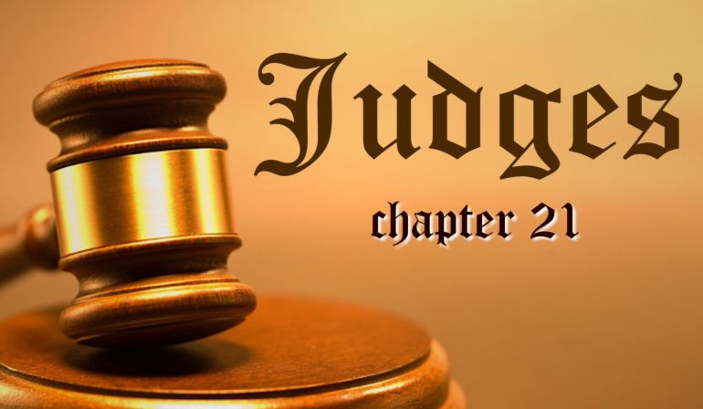 Judges 21 Friday Night Bible Study 9/8/17