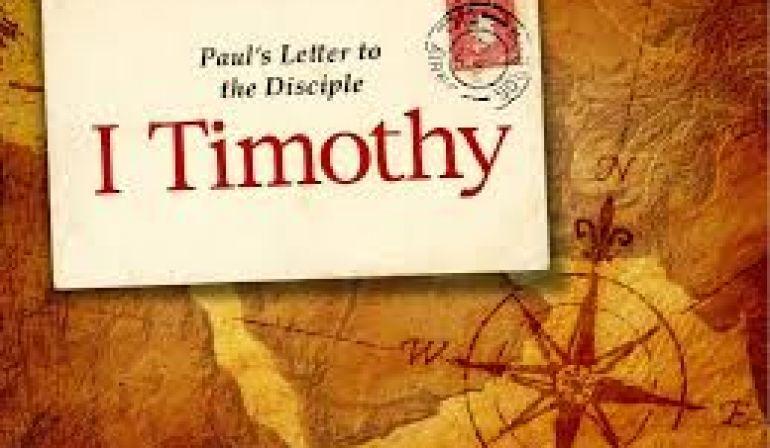 Sunday Sermon 1-7-2018  1 Tim 5 12-16