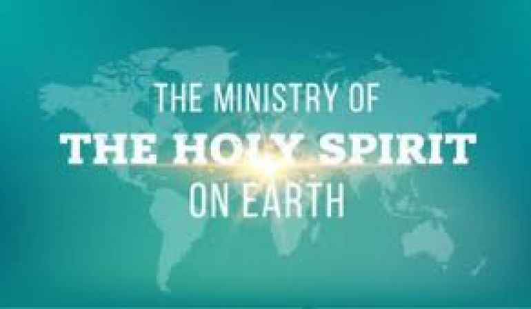Sunday Sermon 2 4 18 3-Fold ministry of the Holy Spirit