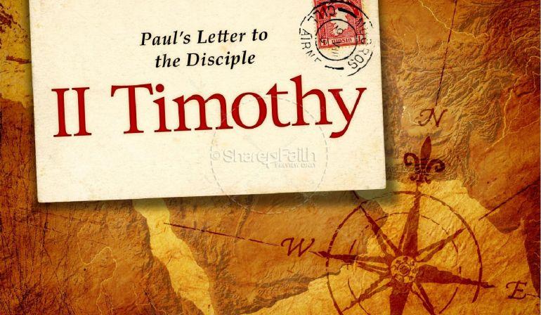 Sunday Sermon 2 Tim 1:1-7