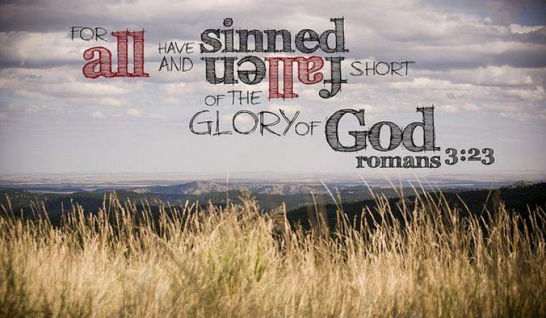 Scripture Memory Verse Romans 3:23  (3/2/18)