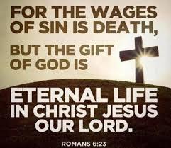 Scripture Memory Verse Romans 6:23