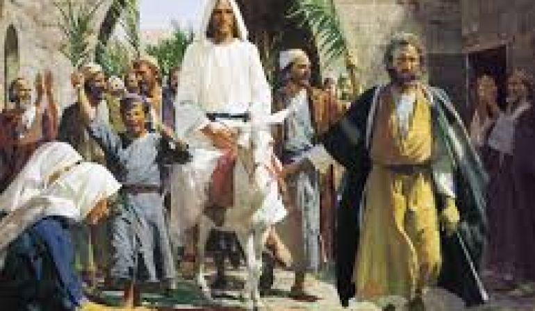 Sunday Service 3 25 18 Matthew 21 1-11