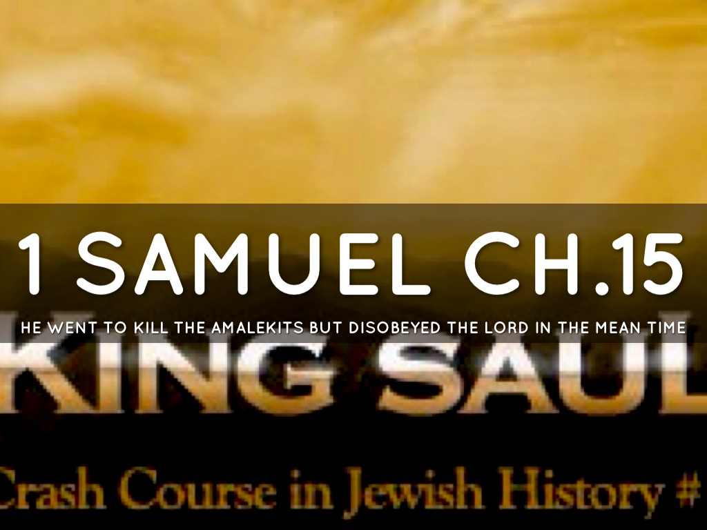 1 Samuel Chapter 12 Friday Night Bible Study 5/18/2018
