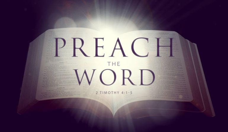 Sunday Sermon 4/29/18 2 Tim 4: 1-5