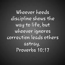 Proverbs 10:17 Scripture Memory Verse