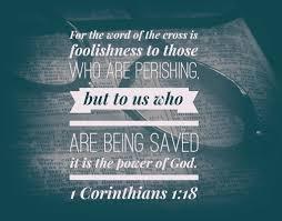 1 Cor 1:18 – Jamie Tyra – Friday Night Bible Study (6-22-18)