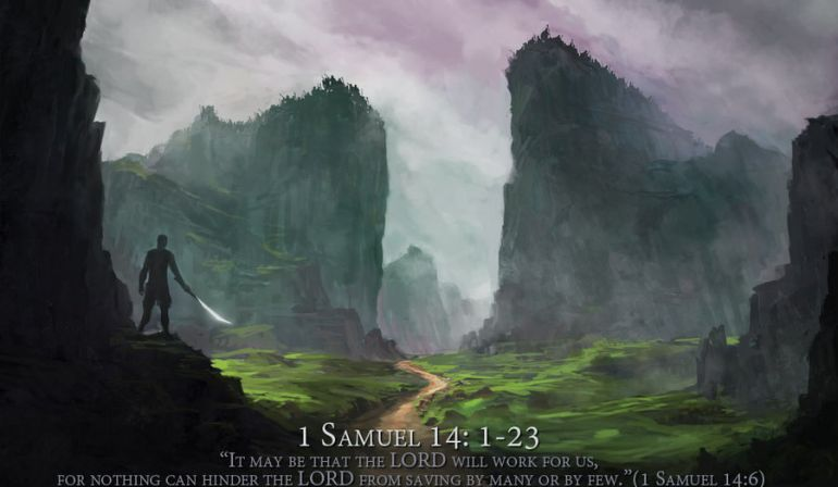 1 Samuel 14 1-23 Friday Night Bible Study (6/1/18)