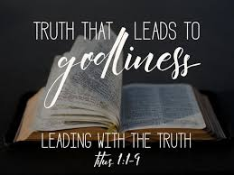 Sunday Sermon Titus 1  1-9  (6-3-2018)