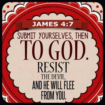 James 4:7 Scripture Memory Verse (7/27/18)