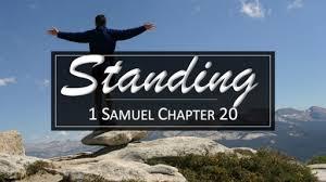 1 Samuel Chapter 20 Friday Night Bible Study (8/24/18)