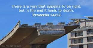 Proverbs 14:12 Scripture Memory Verse 8/24/18