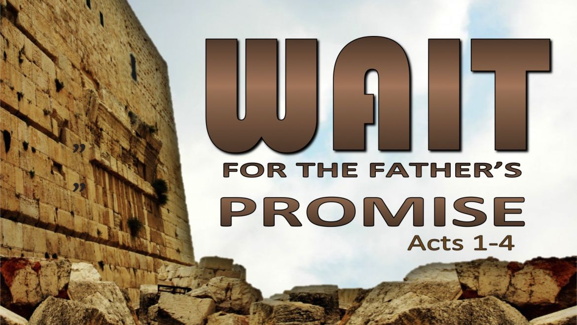 Acts 1 4-8 Sunday Sermon (9/2/18)