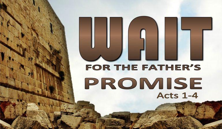 Acts 1 4-8 Sunday Sermon (9/2/18)