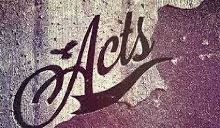 Acts 1:9-26  Sunday Sermon (9/16/18)