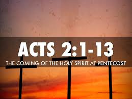 Acts 2 1-13 Sunday Service (9/23/18)