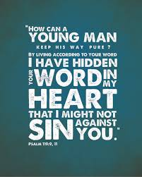 Psalms 119:9 Scripture Memory Verse (10/19/18)