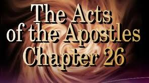 Acts 26 1-11 Friday Night Bible Study (11/16/18)