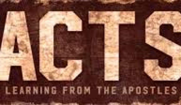 Acts 4 1-13 Sunday Sermon (12/2/18)