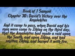 1 Samuel 30 Friday Night Bible Study (1/18/19)