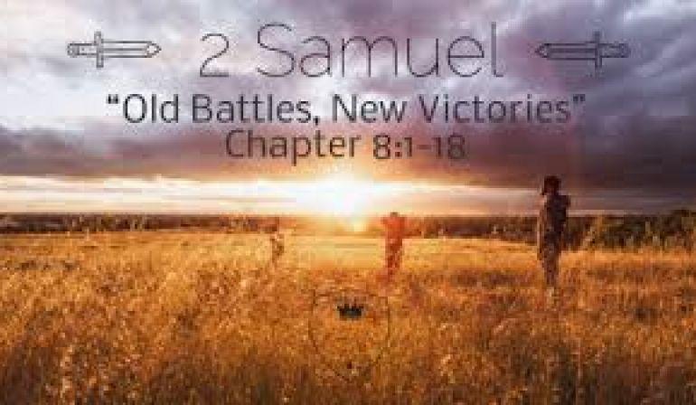 2 Samuel 8  8-18 Friday Night Bible Study (4/20/19)