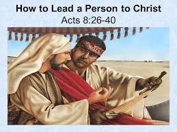 Acts 8  26 40 Sunday Teaching  (4 7 2019 ) Pastor  Greg  Tyra