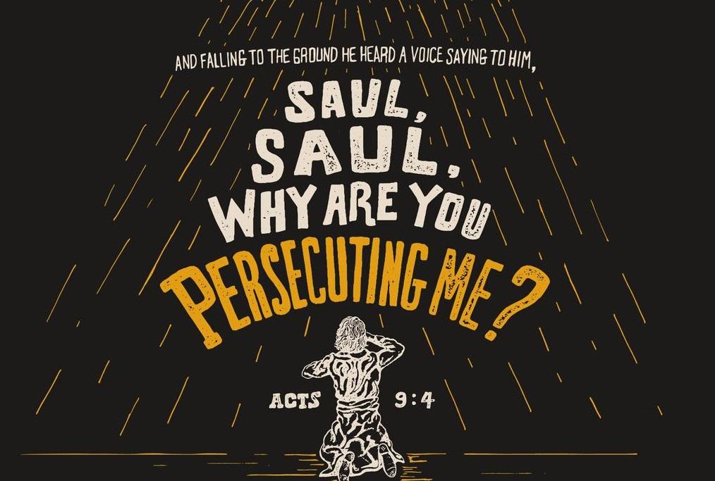 Acts 9: 1-9 Sunday Teaching (4/28/19) Pastor Greg Tyra