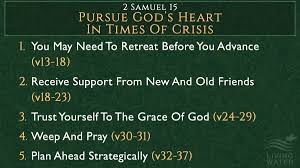 2 Samuel Chapter 15 1-37 Friday Night Bible Study (7-5-19)