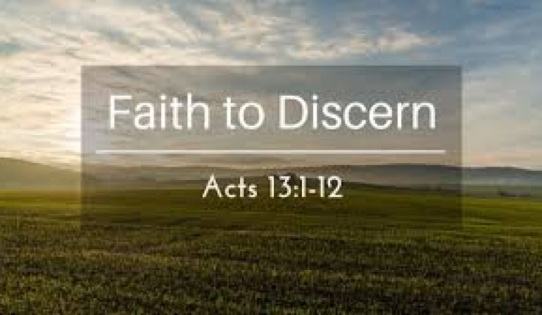 Acts 13  1-12 Sunday Teaching (7-7-2019 ) Pastor Greg Tyra
