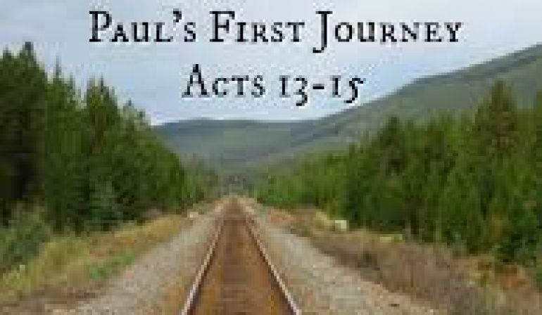 Acts 13  26-35 Sunday Teaching Greg Tyra Pastor (7-21-2019)