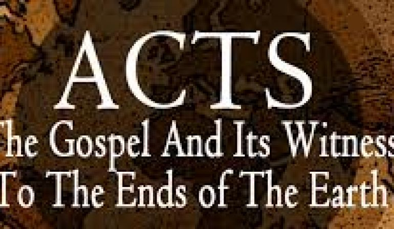 Acts 13  44-52 Sunday Teaching (8-4-19) Greg Tyra, Pastor