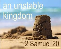 2 Samuel 20:1-22 Friday Night Bible Study (9/6/19)