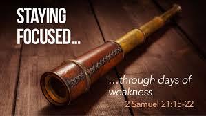 2 Samuel 21 15-22 Friday Night Bible Study (10/4/19)