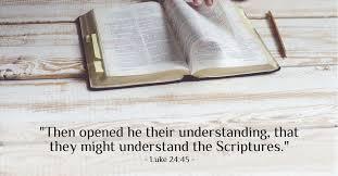 Friday Night Memory Verse 4/17/20 Luke 24:45