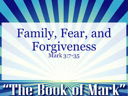 Sunday Teaching (5/3/20) Mark 3:7-35
