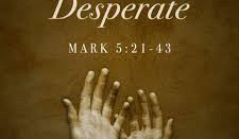Mark 5  21-43 Sunday Teaching (5-31-2020) Pastor Greg Tyra
