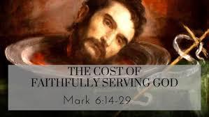 Mark 6  14-29 Sunday Teaching (5-14-2020) Pastor Greg Tyra