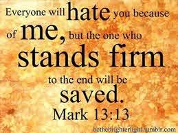 Mark 13:13 Sunday Teaching (11/29/20) Pastor Greg Tyra