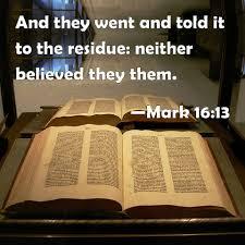 Mark 16 1-13 Sunday Teaching (2-21-21) Pastor Greg Tyra