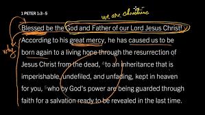1 Peter 1 3-5 Sunday Teaching (3-14-21) Pastor Greg Tyra