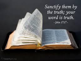 John 17:17 Scripture Memory Verse (3/12/21) Pastor Greg Tyra