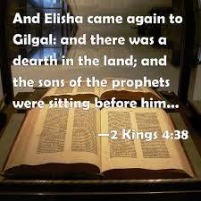 2 Kings 4:38 Friday night Bible Study (4/2/21) Pastor Greg Tyra