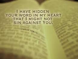 Psalm 119:11 Scripture Memory Verse (4/9/21) Pastor Greg Tyra