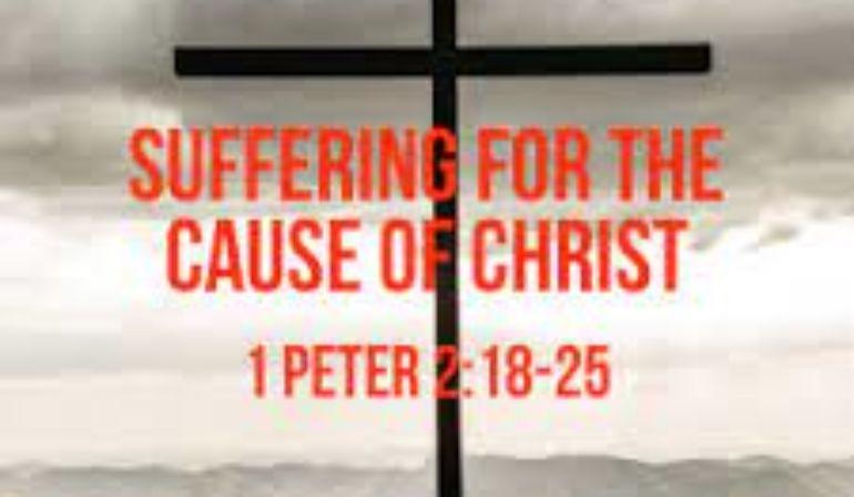 1 Peter 2:18-25 Sunday Teaching 05-16-21 Pastor Greg Tyra