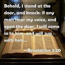 Revelation 3:20 Scripture Memory (6/25/21) Pastor Greg Tyra