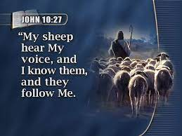 John 10:27 Scripture Memory (6/11/21) Pastor Greg Tyra